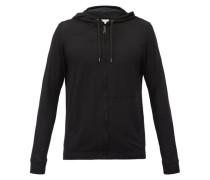 Basel Micromodal-blend Hooded Pyjama Sweatshirt