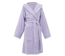 Hooded Cotton-terry Bathrobe