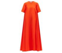 A-line Cotton-poplin Dress