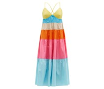 Cleo Tiered Cotton-blend Dress