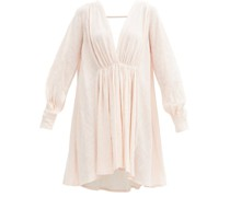 Always The Muse Cotton-gauze Tunic Dress