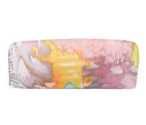 Abigail Abstract-print Bandeau Bikini Top