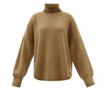 Roll-neck Alpaca-blend Sweater