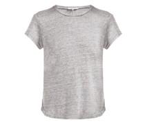 Slubbed Linen-jersey Crew-neck T-shirt