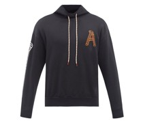 Logo-print Cotton-jersey Hooded Sweatshirt