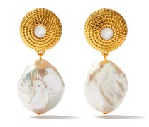 Pernille Pearl & Gold-plated Earrings