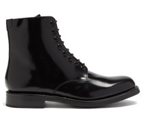 Hadley Leather Derby Boots
