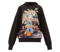Hope Springs Eternal Sequinned Hooded Sweatshirt
