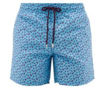 Moorea Turtle-print Swim Shorts