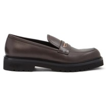 Mundra Trek-sole Leather Penny Loafers