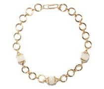 Xena Rock Crystal & 18kt Gold-plated Bracelet