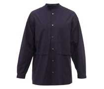 Lineman Patch-pocket Cotton-twill Shirt