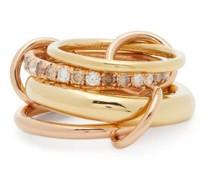 Luna Diamond, 18kt Gold & 18kt Rose-gold Ring