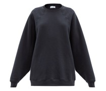 Recycled-yarn Cotton-blend Sweatshirt