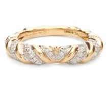 Heart Alliance Diamond & 18kt Gold Ring