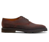 Milton Waxed-suede Derby Shoes