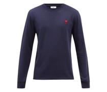 De Caur-logo Organic-cotton Jersey T-shirt