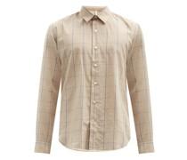 Dan Check Cotton-blend Shirt
