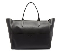 Incognito Large Leather Tote Bag