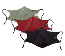 Pack Of Three Face Coverings