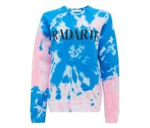 Radarte-print Tie-dye Cotton-blend Sweatshirt