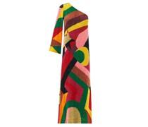 One-shoulder Sequinned Dress