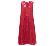 Sequinned Side-slit Dress