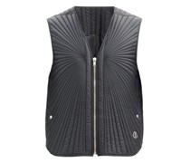 V-neck Quilted Down Gilet