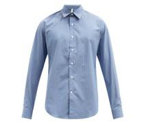 Dan Striped Cotton-blend Shirt