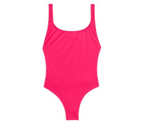 Select Shimmer Scoop-back Swimsuit