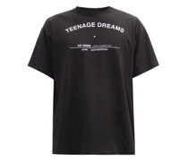 Teenage Dreams-print Cotton-jersey T-shirt