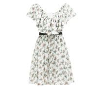 Juniper Floral-print Cotton-voile Dress