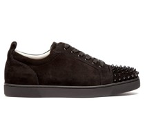 Louis Junior Studded Suede Trainers