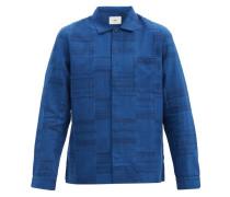 Panelled Cotton-chambray Shirt