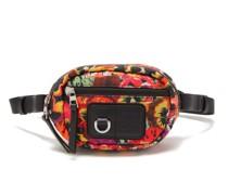 X Joe Brainard Pansy-print Nylon Belt Bag