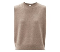 Be Now Sleeveless Stretch-cashmere Sweater