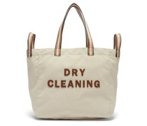 Household Dry Cleaning Recycled-canvas Tote Bag