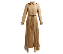 Torres Fringed Wool-blend Coat