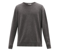 Loose-fit Crew-neck Cashmere Sweater