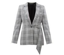 Belair Checked Wool Blazer