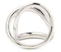 Ribbon Sterling-silver Ring