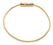 Gold-vermeil Herringbone-chain Bracelet