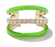Diamond & 9kt Gold Ear Cuff