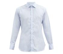 Bengal Striped Cotton-poplin Shirt