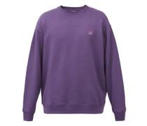 Forba Face-appliqué Cotton-jersey Sweatshirt