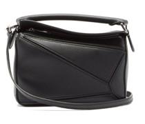 Puzzle Mini Leather Cross-body Bag