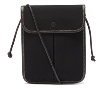 Terra Organic-cotton Canvas Cross-body Bag