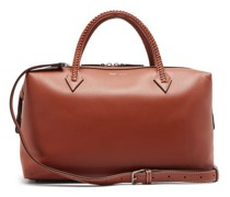 Perriand City Braided-handle Leather Weekend Bag