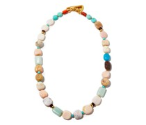 Heroine Gemstone & Gold-plated Necklace