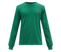 De Caur Logo-embroidered Cotton-jersey T-shirt